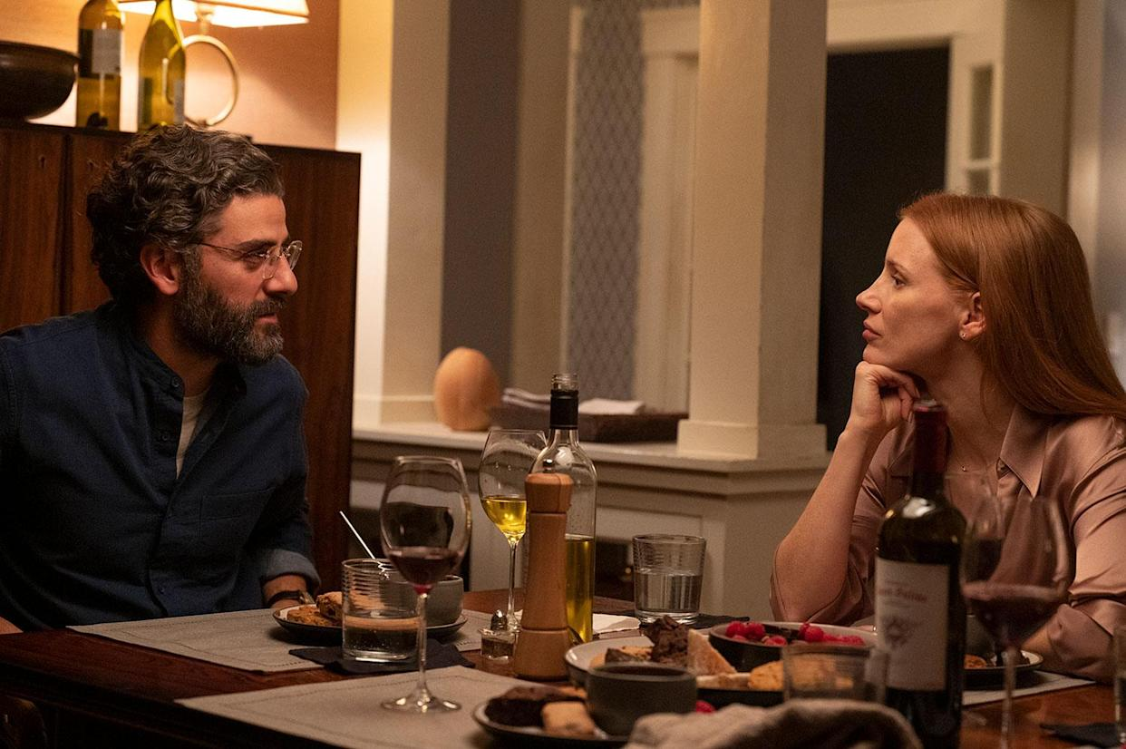 Jessica Chastain and Oscar Isaac star in Scenes From A Marriage (HBO/Sky)