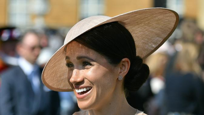 Meghan Markle (DOMINIC LIPINSKI / POOL / AFP)