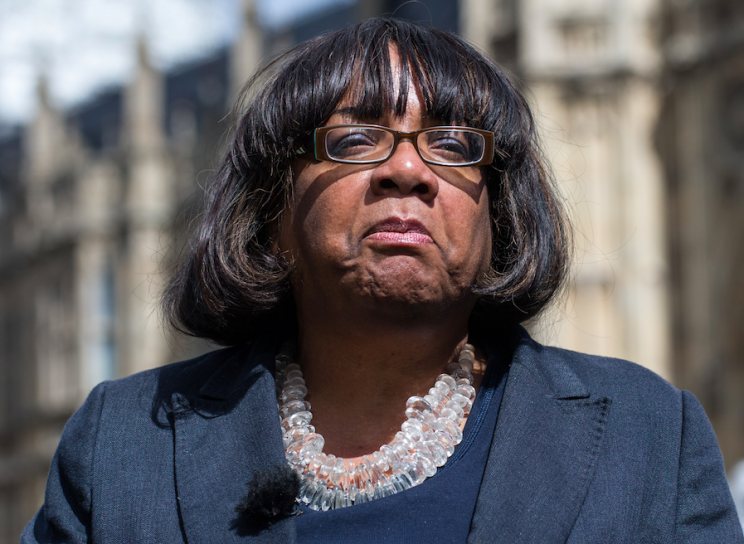 Diane Abbott was mocked for an excruciating radio interview this morning (Rex)