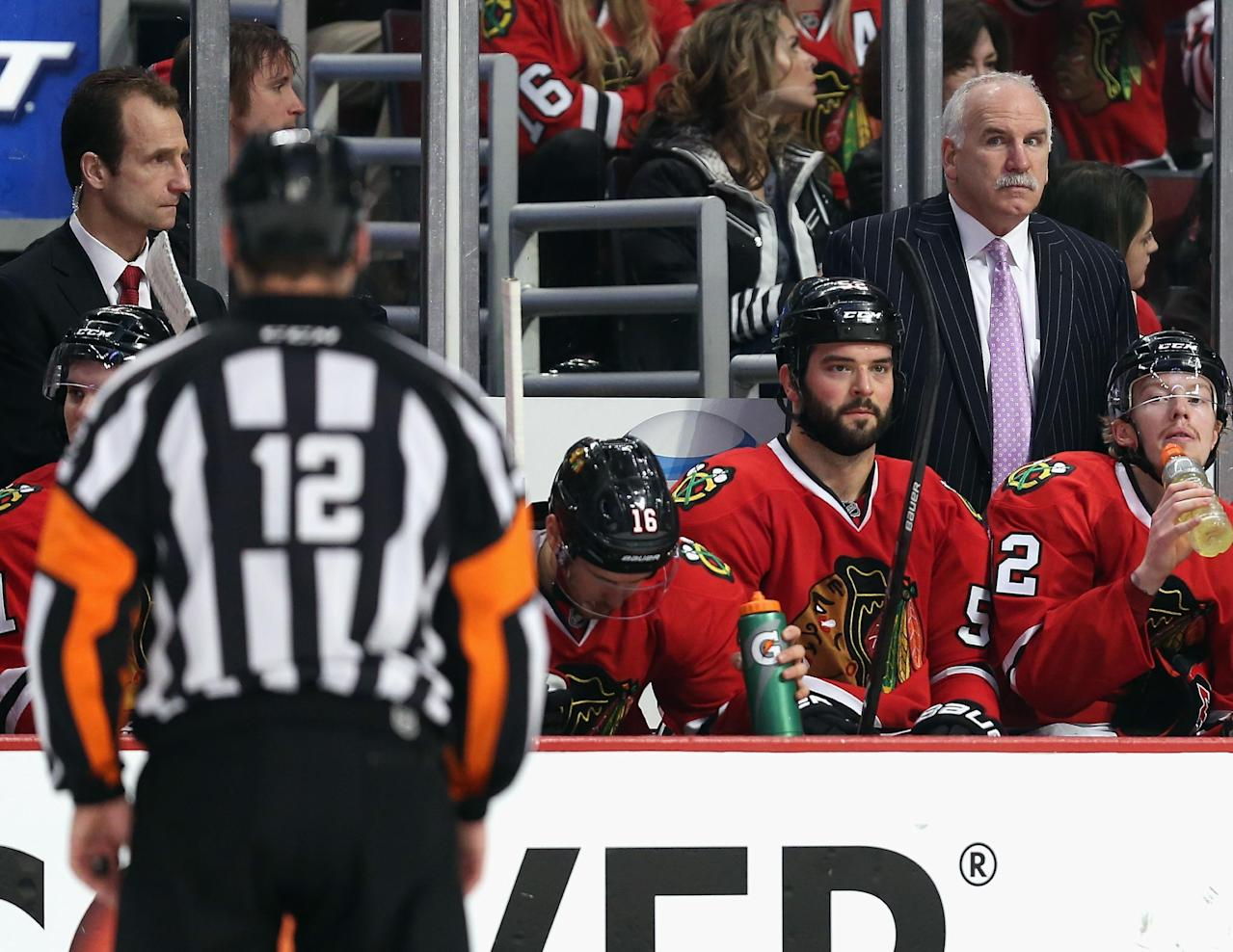 Joel Quenneville fined $25,000 for Michael Jackson impression during Game 1 tirade