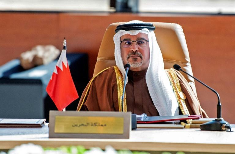 Bahrain's Crown Prince Salman bin Hamad Al-Khalifa, pictured here at a Gulf Cooperation Council summit in Saudi Arabia, is a moderate who has tried to build bridges with opponents