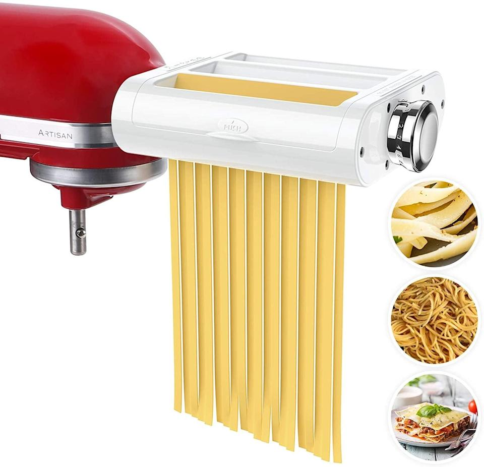 <p><span>Antree Pasta Maker Attachment 3 in 1 Set For KitchenAid Stand</span> ($102, originally $120)</p>