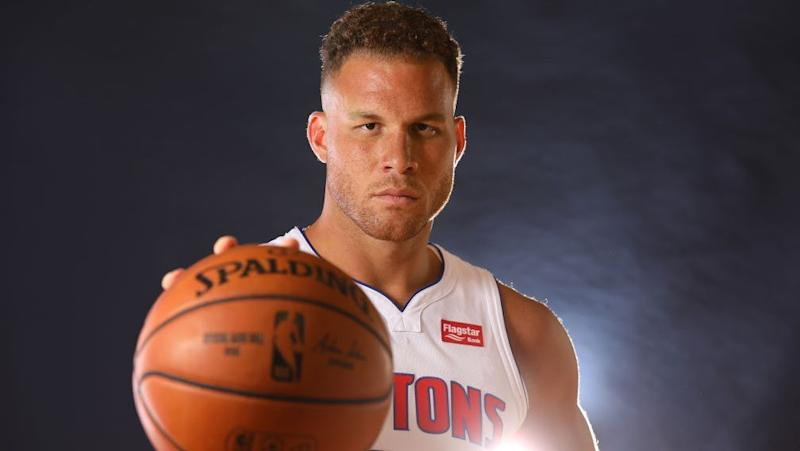 NBA Blake Griffin sidelined with hamstring, knee issues