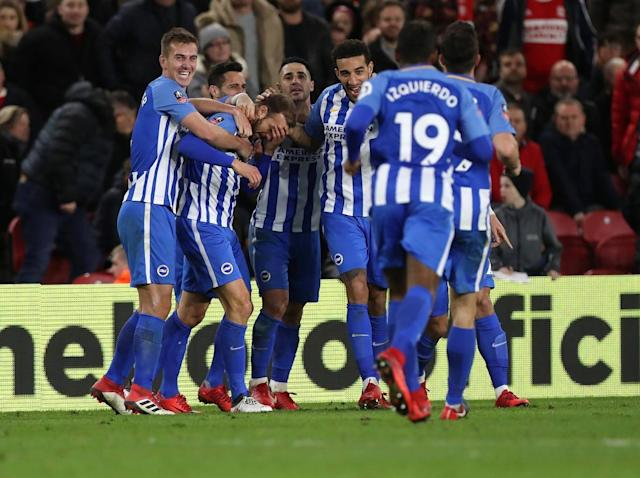 Glenn Murray puts difficult week behind him with fortunate winner as Brighton beat Middlesbrough