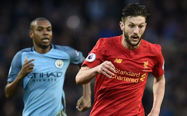 <span>Lallana has been one of Liverpool's best players this season</span> <span>Credit: AFP </span>