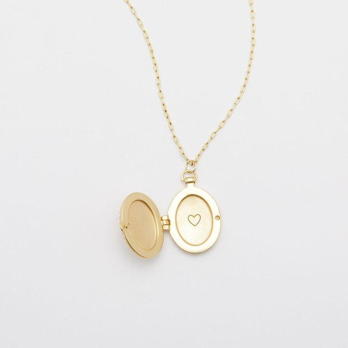 """<h2><a href=""""https://gorjana.com/collections/gifts-under-75/products/bali-antique-locket-necklace"""" rel=""""nofollow noopener"""" target=""""_blank"""" data-ylk=""""slk:Gorjana Bali Antique Locket Necklace"""" class=""""link rapid-noclick-resp"""">Gorjana Bali Antique Locket Necklace<br></a></h2><br>Designed to look and feel like a family heirloom, this locket can hold up to two pictures of those dearest to your mother-in-law. <br><br><strong>Gorjana</strong> Bali Antique Locket Necklace, $, available at <a href=""""https://go.skimresources.com/?id=30283X879131&url=https%3A%2F%2Fgorjana.com%2Fcollections%2Fgifts-under-75%2Fproducts%2Fbali-antique-locket-necklace"""" rel=""""nofollow noopener"""" target=""""_blank"""" data-ylk=""""slk:Gorjana"""" class=""""link rapid-noclick-resp"""">Gorjana</a>"""