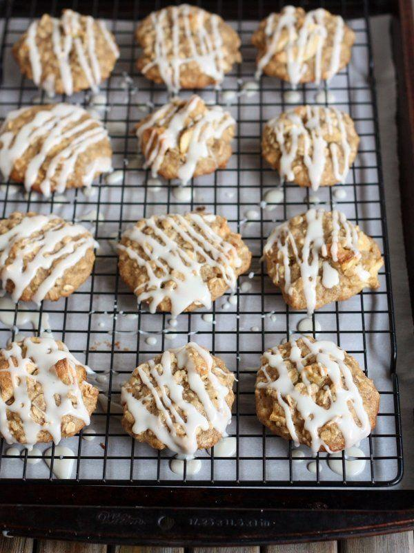 """<strong>Get the <a href=""""http://www.completelydelicious.com/iced-oatmeal-and-apple-cookies/"""" target=""""_blank"""">Iced Oatmeal And Apple Cookies recipe</a>from Completely Delicious</strong>"""
