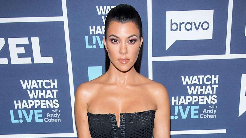 Kourtney Kardashian Poses Nude in Bathroom for New Project Named After Daughter Penelope