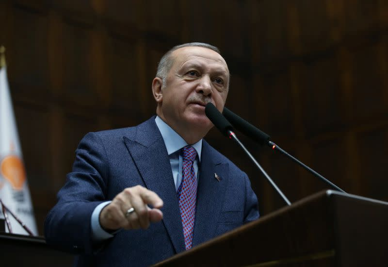 Turkey will repel Syrian forces from Idlib posts this week: Erdogan