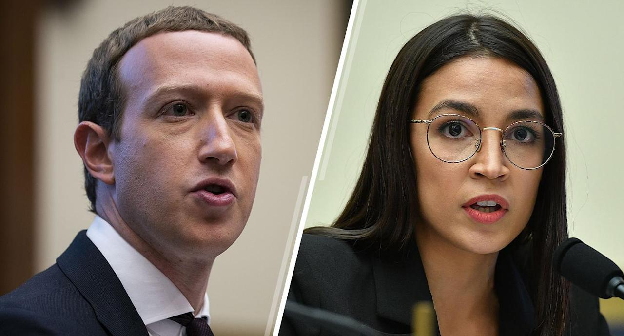 Facebook's Zuckerberg grilled by AOC on fact-checking policy for political ads