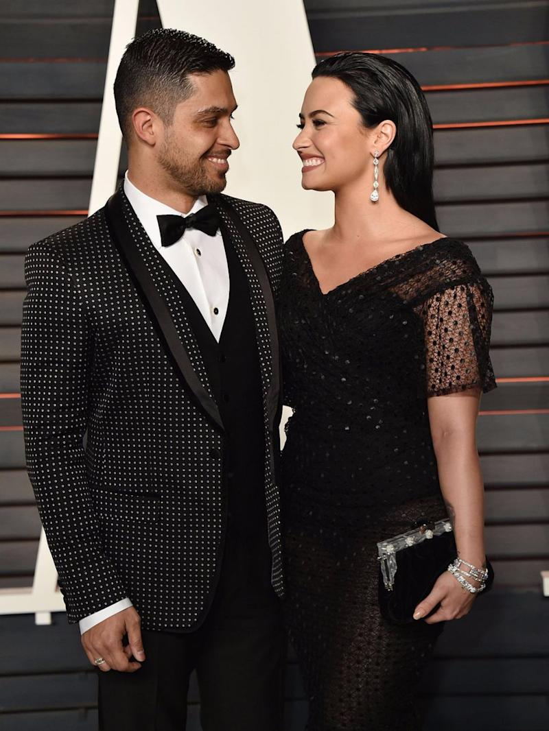 She dated actor Wilmer Valderrama for six-and-a-half years. Source: Getty