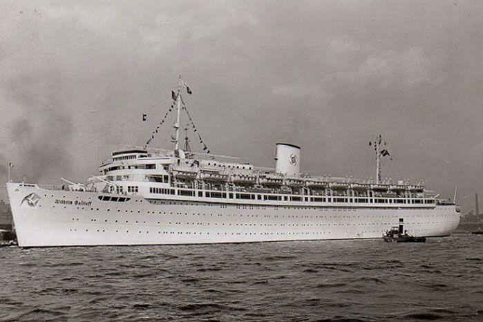 The vessel was sunk by a Soviet torpedo off the coast of Poland, killing 9500 sailors. Image: Getty