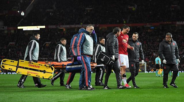 Worst fears appear to have been confirmed, with Zlatan Ibrahimovic reportedly suffering a torn ACLand potentially a torn PCL as wellat the end of regulation in Manchester United's UEFA Europa League quarterfinal second leg against Anderlecht at Old Trafford on Thursday.