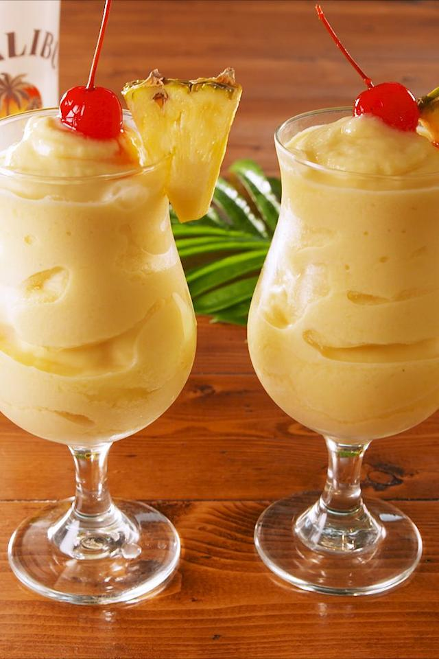 """<p>SO much better than the original!</p><p>Get the recipe from <a href=""""https://www.delish.com/cooking/recipe-ideas/a22576788/boozy-dole-whip-recipe/"""" target=""""_blank"""">Delish</a>. </p>"""