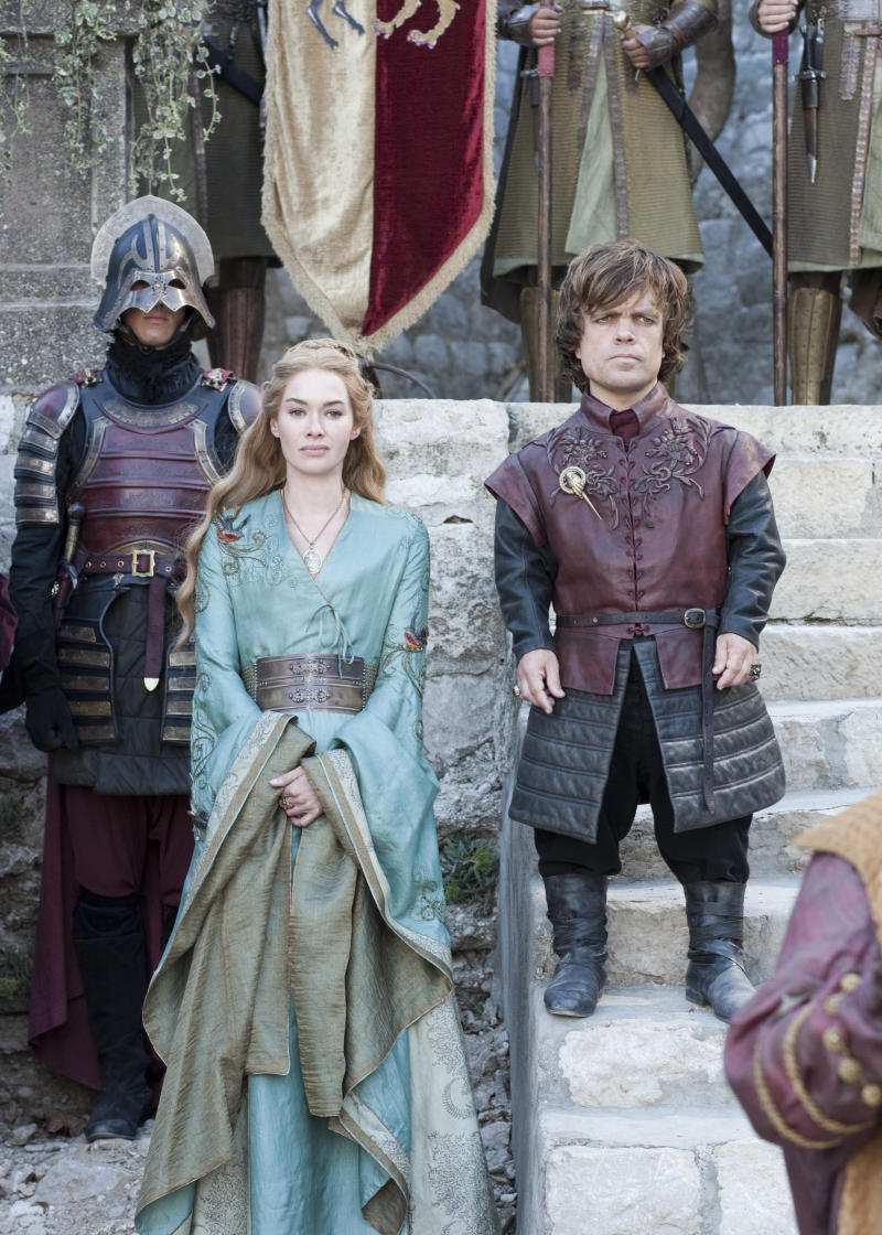 One of these two is my favorite character. The other is Cersei. (Helen Sloan/HBO)