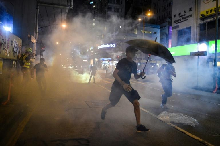 Hong Kong has been shaken by demonstrations that have seen increasingly violent clashes between protesters and the police (AFP Photo/Mohd RASFAN)