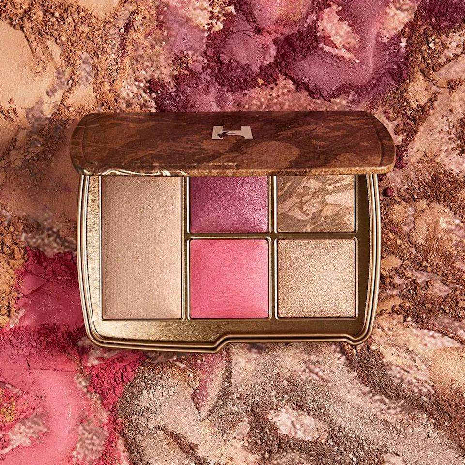 <p>The <span>Hourglass Ambient Lighting Edit Universe Face Palette in Universe Unlocked</span> ($80) will make your complexion look glowy and sunkissed with pops of rosiness. It's an all-inclusive complexion palette that includes two shades of blush and their bestselling highlighter, finishing powder, and bronzer.</p>