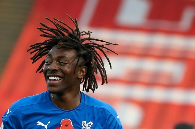 Eze does it: Eberechi Eze scored his first Premier League goal for Crystal Palace