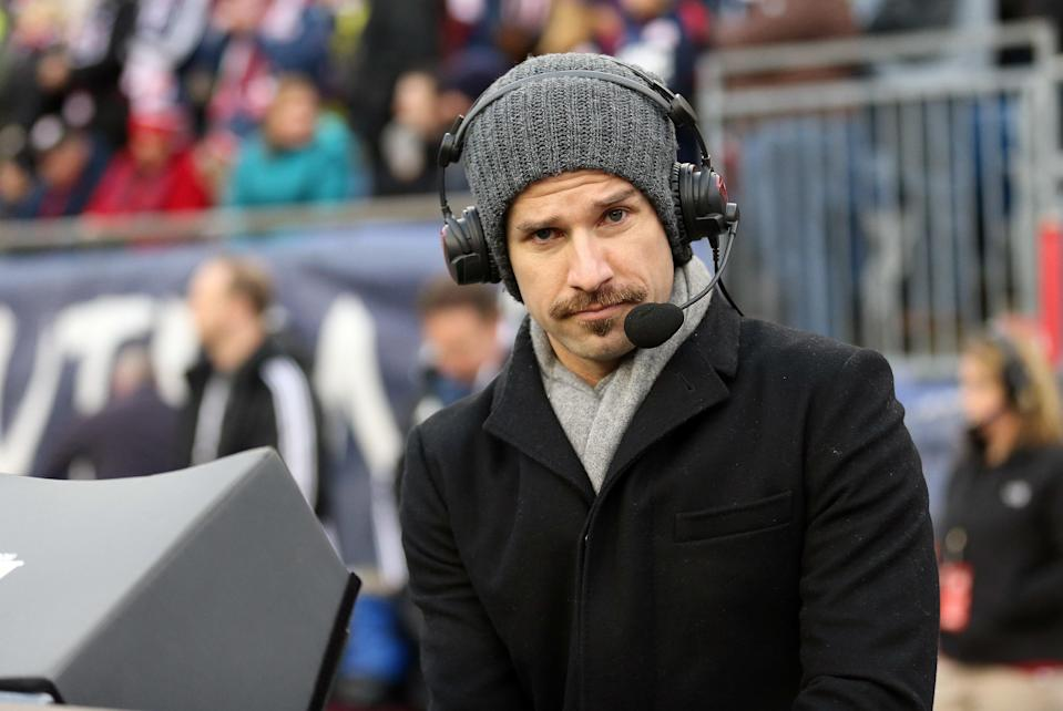 U.S. Soccer presidential candidate Kyle Martino most recently worked for NBC Sports. (Getty)