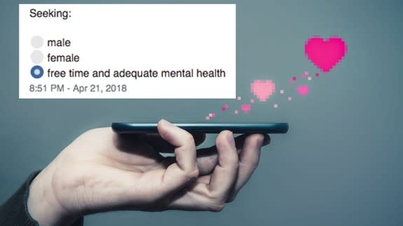 mental health dating app