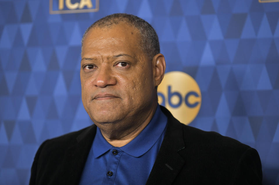PASADENA, CALIFORNIA - JANUARY 08: Laurence Fishburne attends the ABC Television's Winter Press Tour 2020 at The Langham Huntington, Pasadena on January 08, 2020 in Pasadena, California. (Photo by Rodin Eckenroth/WireImage)