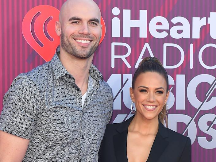 Jana Kramer and Mike Caussin in March 2019