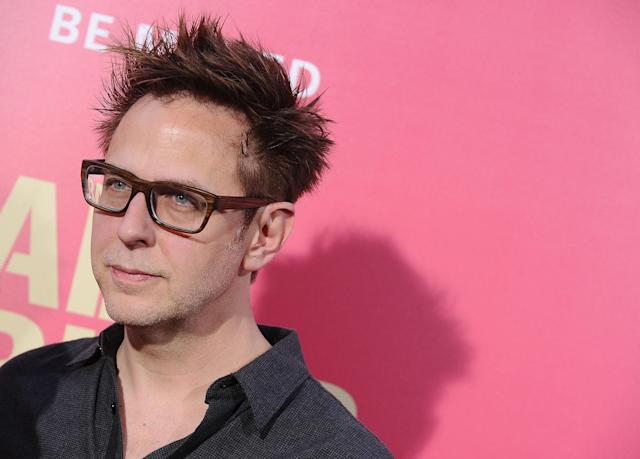 """LOS ANGELES, CA - JUNE 14: Director James Gunn attends the premiere of """"Baby Driver"""" at Ace Hotel on June 14, 2017 in Los Angeles, California. (Photo by Jason LaVeris/FilmMagic)"""