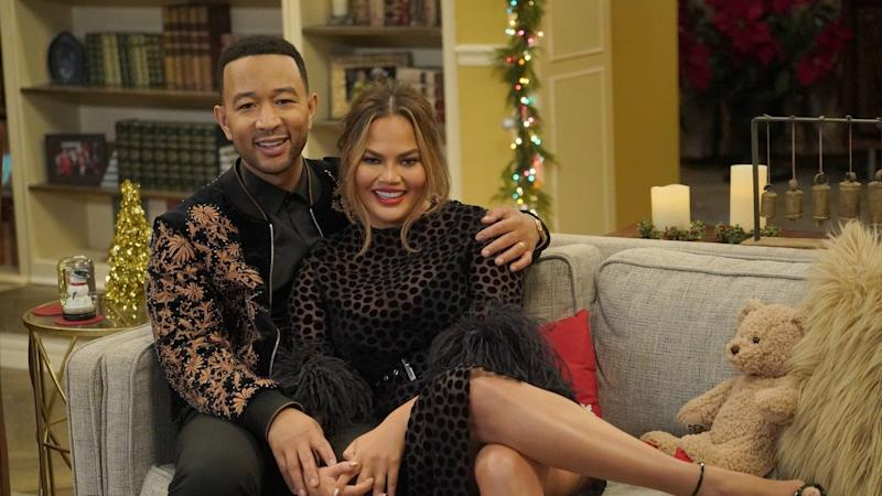 A Legendary Christmas.The Cutest Moments From John Legend And Chrissy Teigen S A