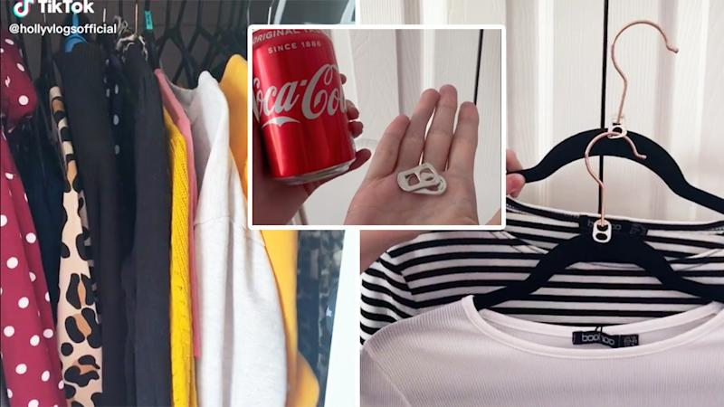 coke can wardrobe hack