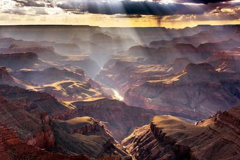 The Grand Canyon is another popular area for sightseeing tours - Credit: Cover Images/JFL/ZJOGJFL/ZJOG