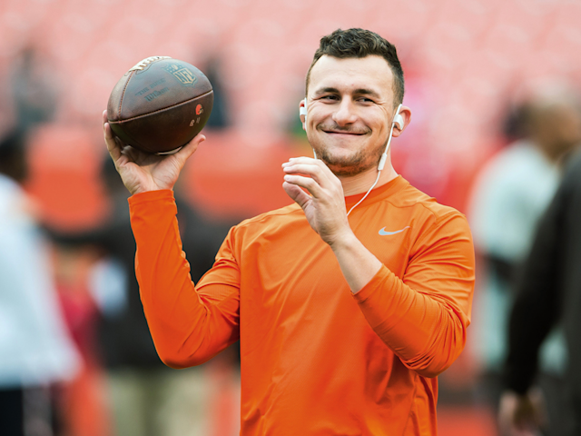 After a two year absence from professional football, Johnny Manziel says he has signed a contract with the CFL that will see him joining the Hamilton Tiger-Cats and competing for the Grey Cup.