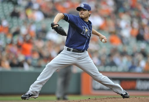 Rays hit 2 HRs, beat Orioles 3-1 for 3-game sweep
