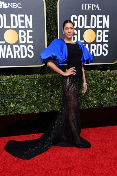 PHOTO: Janina Gavankar attends the 77th Annual Golden Globe Awards at The Beverly Hilton Hotel on Jan. 05, 2020, in Beverly Hills, Calif. (Jon Kopaloff/Getty Images)