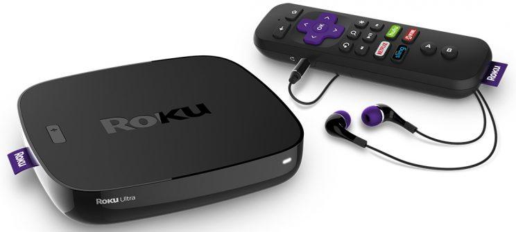 Roku Ultra set-top box.