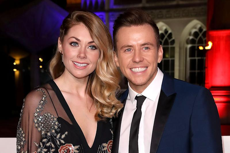 Expecting: Georgia and Danny Jones are expecting their first child: Tim P. Whitby/Getty Images