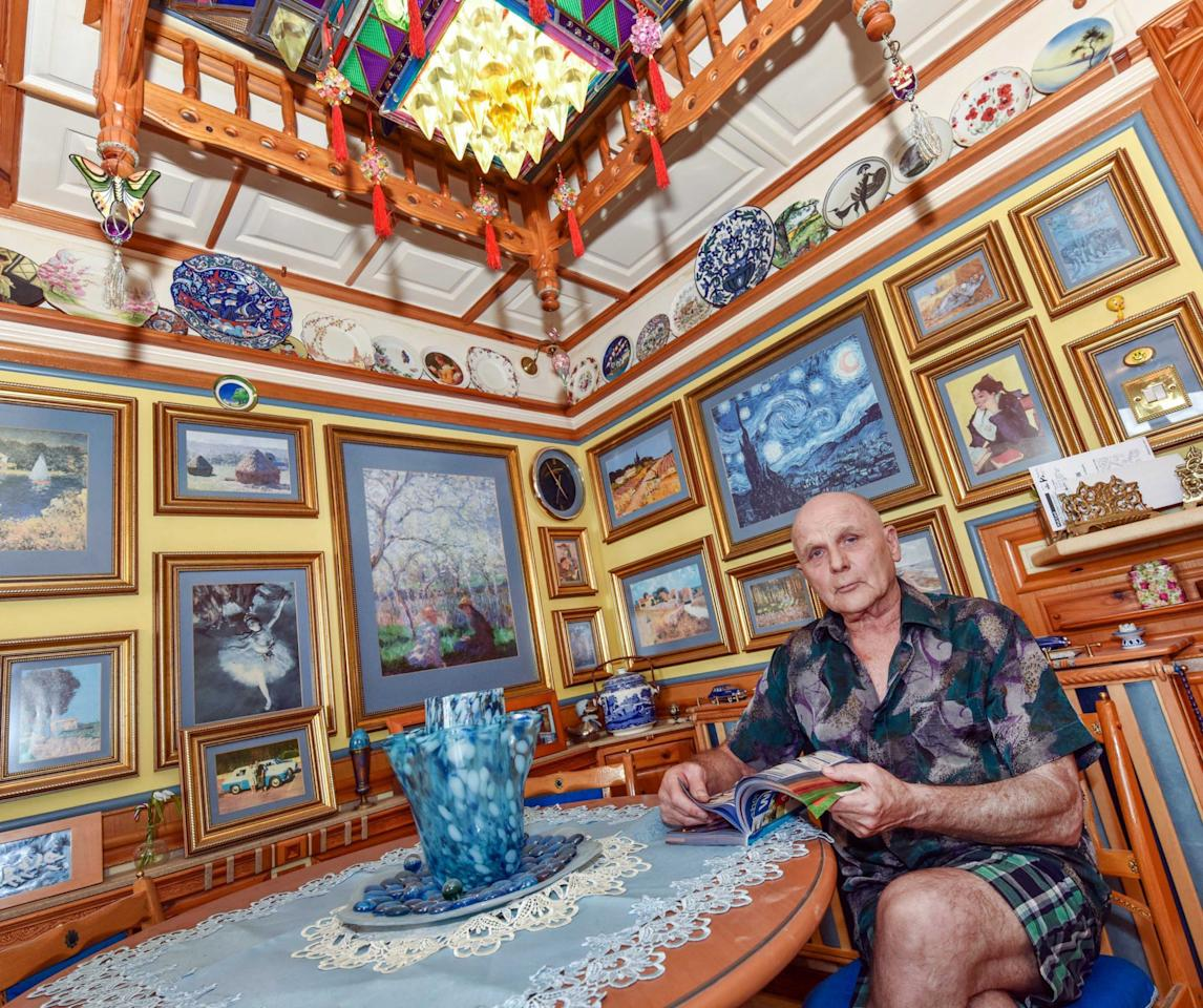<p>Adrian's obsession began when he moved into the flat with his wife Annette in 1986. She had been living there for two years. </p>