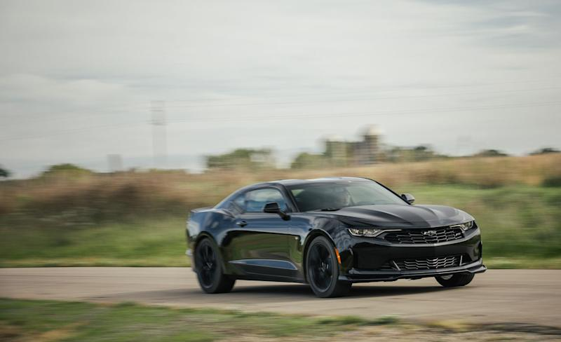 The 2019 Chevrolet Camaro Turbo 1le Is Anything But Entry