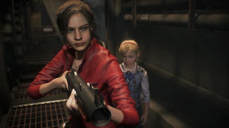 Claire Redfield in Resident Evil 2 (Credit: Capcom)