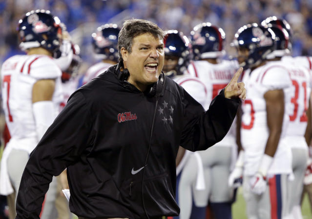 In punishing Ole Miss, the NCAA let former Mississippi head coach Hugh Freeze get off relatively easy. (AP)