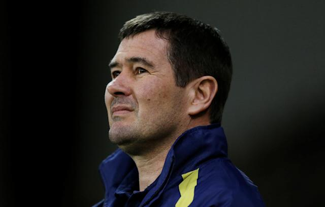 "Soccer Football - Championship - Sheffield United vs Burton Albion - Bramall Lane, Sheffield, Britain - March 13, 2018 Burton Albion manager Nigel Clough before the match Action Images/Ed Sykes EDITORIAL USE ONLY. No use with unauthorized audio, video, data, fixture lists, club/league logos or ""live"" services. Online in-match use limited to 75 images, no video emulation. No use in betting, games or single club/league/player publications. Please contact your account representative for further details."