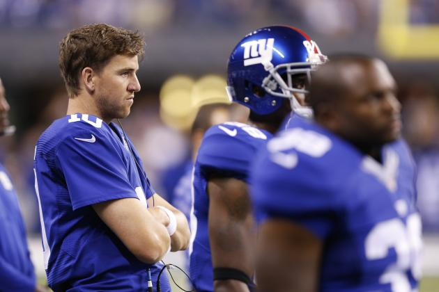 Eli's fantasy fantasy ... completing passes. (Getty)