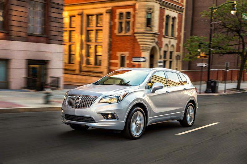 buick envision news specs trims price