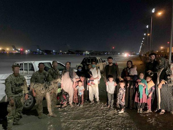 PHOTO: An all-volunteer group of American veterans of the Afghan war launched a daring mission on Wednesday night dubbed the 'Pineapple Express' to shepherd critically at-risk Afghan elite forces and their families to safety. (Capt. Zac Lois)