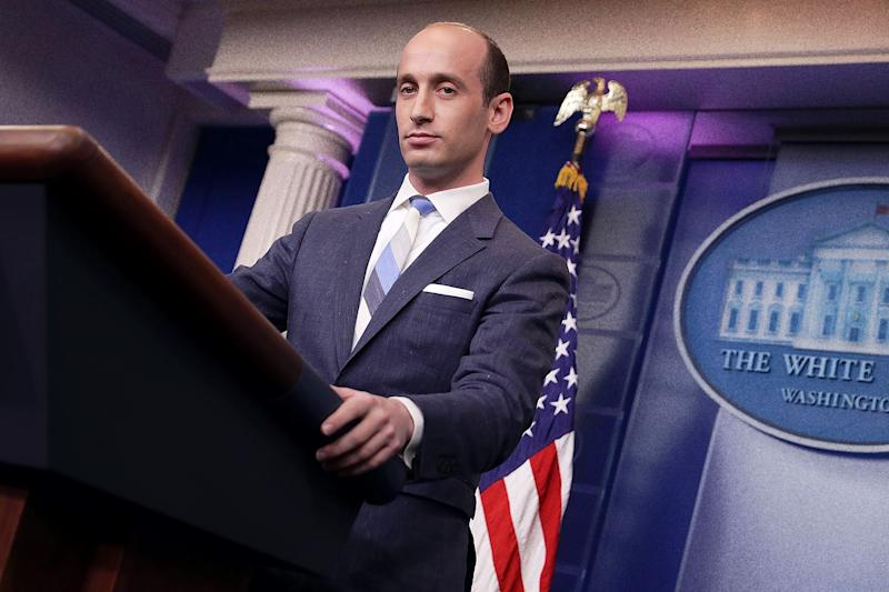 Stephen Miller Is Trying to Break the Asylum Process