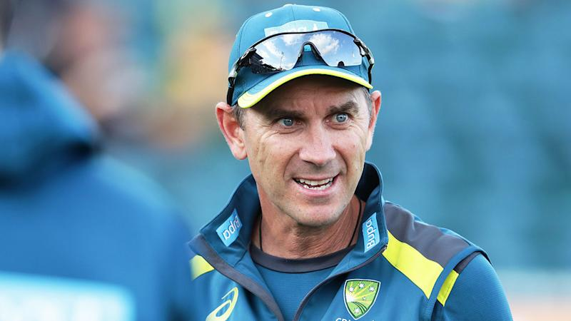 Pictured here, Australia cricket coach Justin Langer.