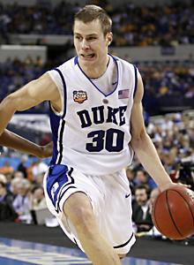 Jon Scheyer led the Blue Devils with 23 points as they rolled to another convincing victory