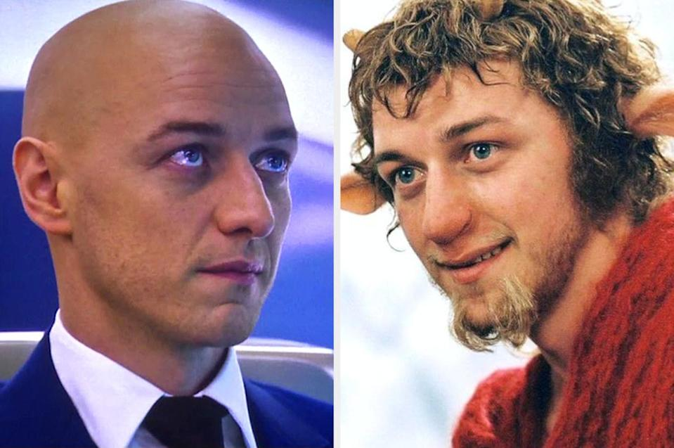 Both played by: James McAvoy