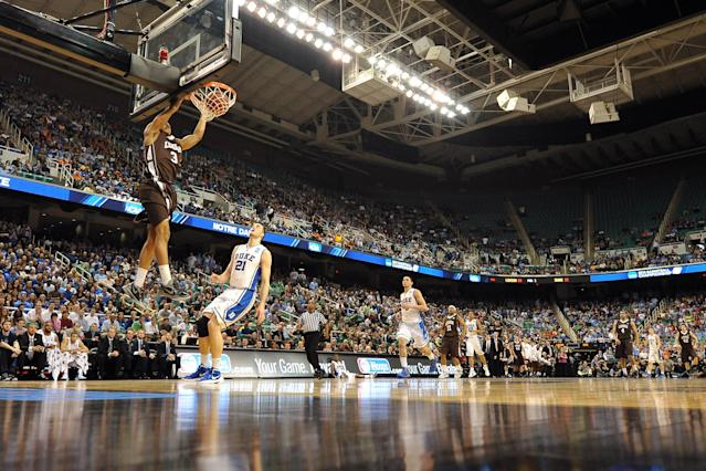 Lehigh toppled Duke in 2012 behind 30 points from C.J. McCollum. (Getty)
