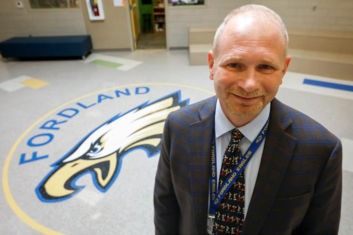 Chris Ford is the superintendent of the Fordland School District.
