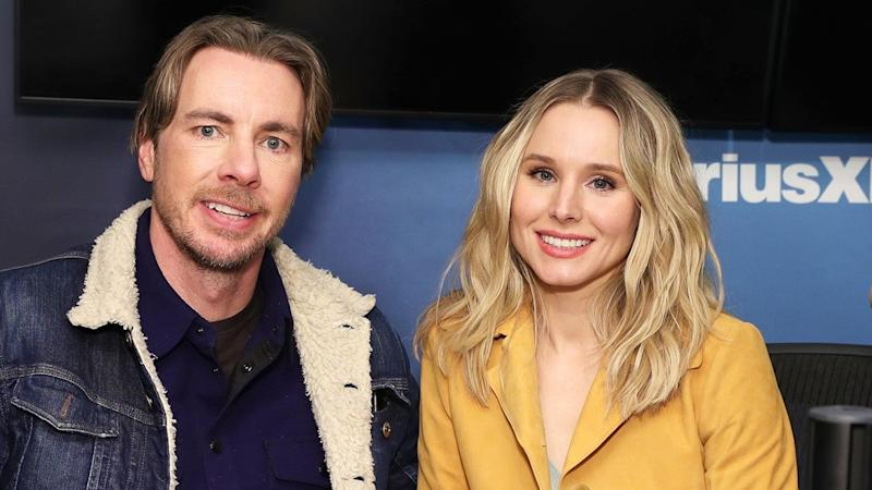 Image result for Kristen Bell and Dax Shepard""